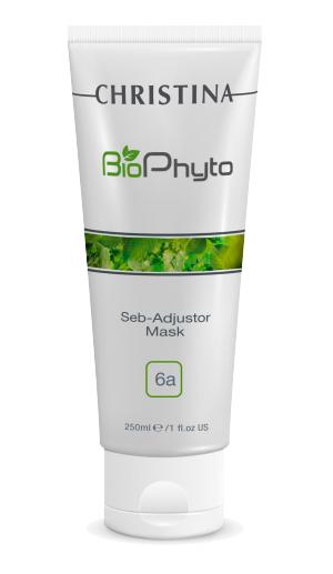 Christina Себорегулирующая маска Bio Phyto Seb-Adjustor Mask 250 млCHR572Очищает кожу, абсорбируя излишки себума, сужает поры, обладает кератолитическим и противовоспалительным действием. Активные компоненты: Деионизированная вода, каолин, оксид цинка, этиловый спирт, глицерин, диоксид титана, сера, камфора, аллантоин, витамины группы В, экстракт лиственничного трутовика, гидрогенизированный протеин дрожжей, салициловая кислота, триклозан. Результат: Способствует снижению секреции кожного себума.
