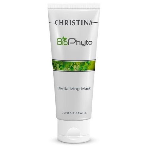 Christina Восстанавливающая маска Bio Phyto Revitalizing Mask 75 млCHR582Совершенная формула с противогликационными свойствами для повышения энергии клеток. Повышает тонус и улучшает текстуру кожи. Восстанавливает ее жизнеспособность. Кожа выглядит увлажненной, гладкой и сияющей. Активные компоненты: BioTech Algae Complex, экстракт продизии, комплекс витаминов группы B. Результат: Увлажняет кожу лица, придает ей здоровое сияние.