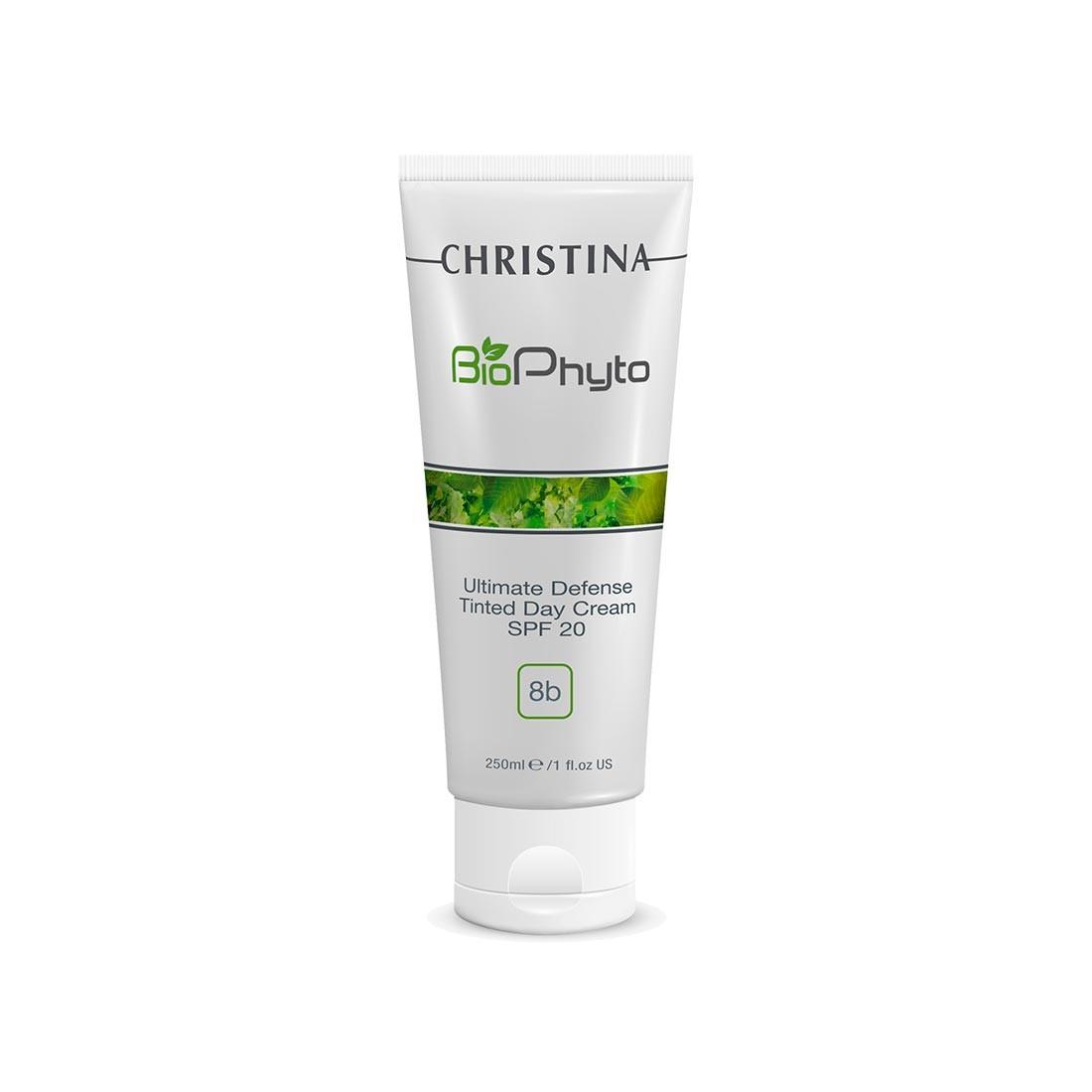 Christina Дневной крем Абсолютная защита SPF 20 с тоном Bio Phyto Ultimate Defense Tinted Day Cream SPF 250 мл