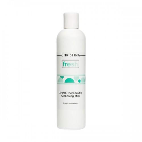 Christina Арома-терапевтическое очищающее молочко для жирной кожи Fresh Aroma Therapeutic Cleansing Milk for oily skin 300 мл FATCMO300