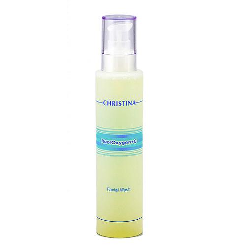 Christina Лосьон-очиститель FluorOxygen +C Facial Wash 200 млFLUFWЛосьон-очиститель Christina FluorOxygen+C- Facial Wash мягко и эффективно снимает макияж, удаляет загрязнения, готовит кожу к применению препаратов серии FluorOxygen + C, что способствует оптимальному осветлению и обеспечивает долговременные результаты.
