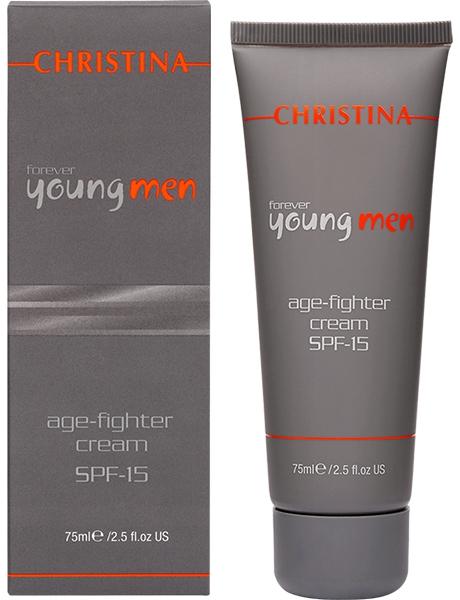 Christina Крем против старения для мужчин Forever Young Age Fighter Cream SPF15 75 мл