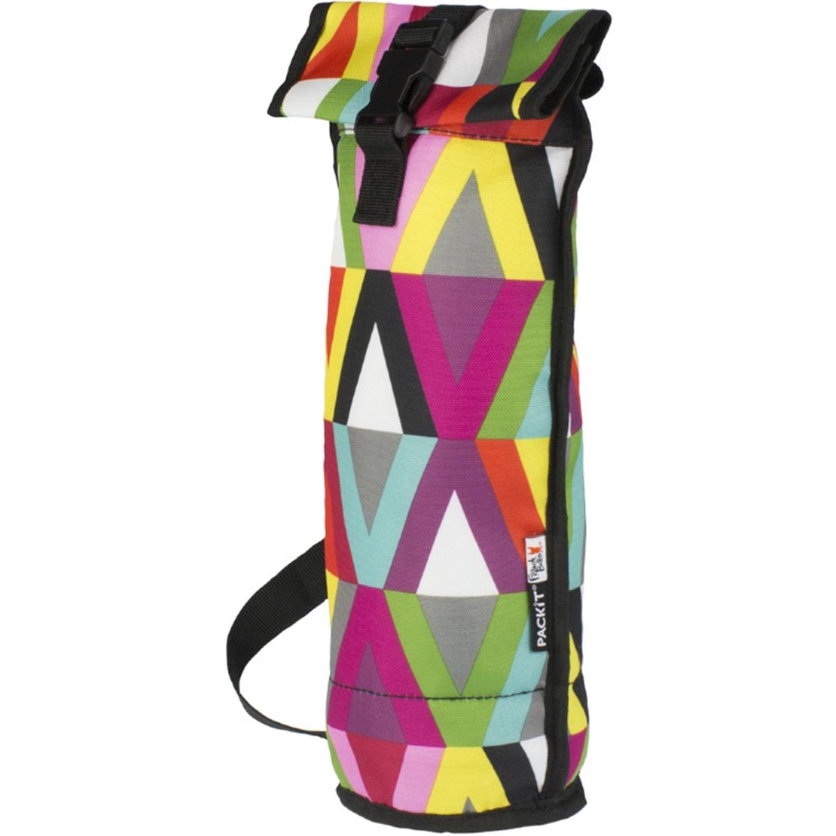 Сумка-холодильник Packit для вина Wine Bag, цвет: разноцветныйPackit0021Охлаждение содержимых в сумке продуктов в течение 10-ти часов. Наличие плечевого ремня, обеспечивающего максимальное удобство транспортировки сумки.