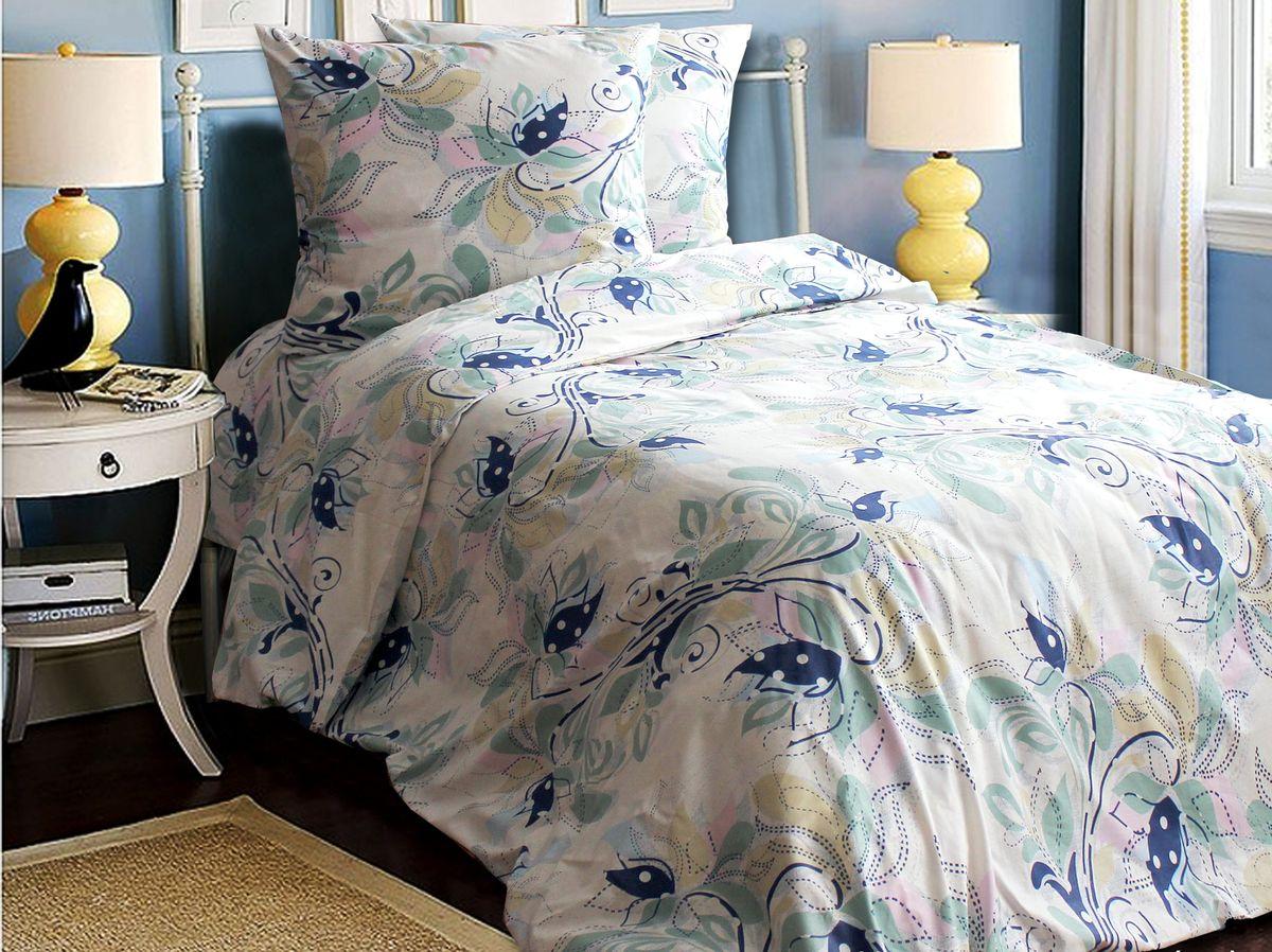 Постельное белье Блакiт Черемуха, 2-х спальное, наволочки 70х7013184417