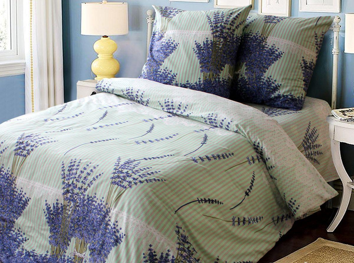 Постельное белье Блакiт Лаванда, 1,5 спальное, наволочки 70х7021484469