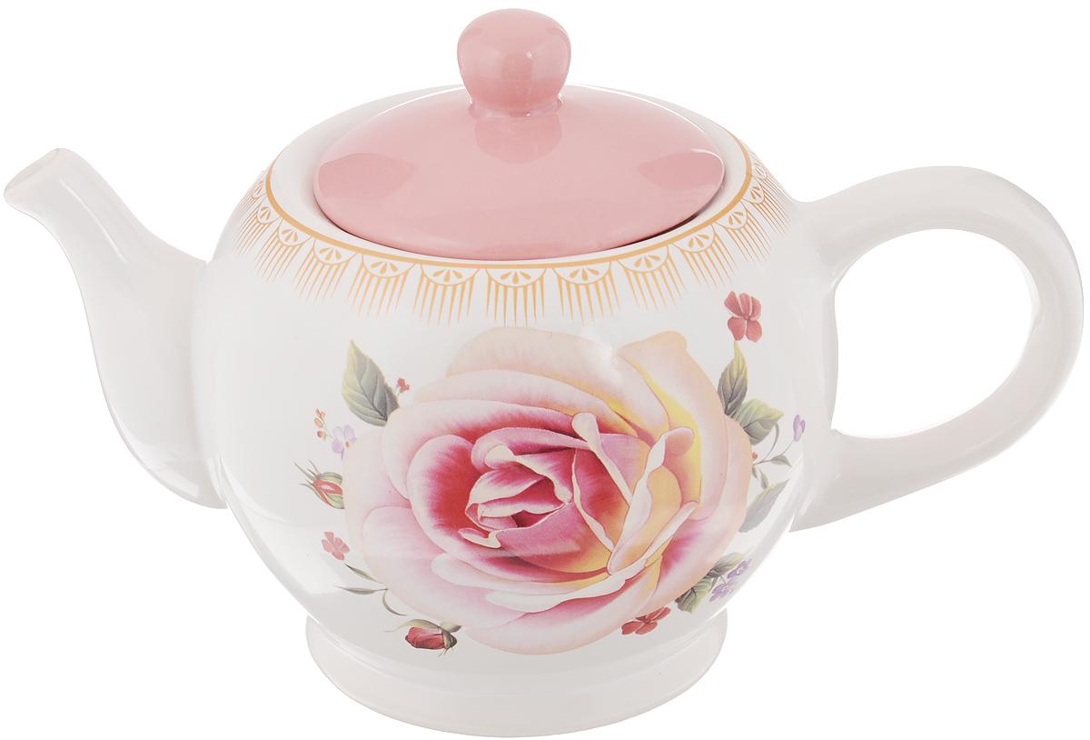 Чайник заварочный Loraine Нежность, 950 мл22Заварочный чайник Loraine Нежность изготовлен из высококачественной керамики и оформлен красочным рисунком. Гладкая и идеально ровная поверхность обеспечивает легкую очистку. Чайник поможет заварить крепкий ароматный чай и великолепно украсит стол к чаепитию. Можно использовать в посудомоечной машине. Высота чайника (без учета крышки): 12 см. Высота чайника (с учётом крышки): 15 см. Диаметр чайника (по верхнему краю): 10 см. Диаметр основания чайника: 9,3 см.
