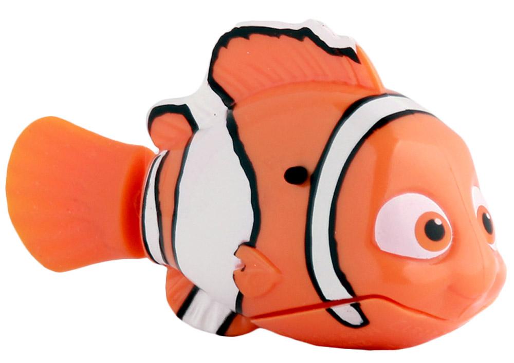 Dory Робот Рыбка Немо25138NВ поисках Дори! Немо- главный герой продолжения известного мультфильма В поисках Немо,,. При соприкосновении с водой начинают плавать. В целях экономии энергии рыбка автоматически отключается через 4 минуты. Для активации рыбки вытащите ее из воды на несколько секунд и запустите снова в воду. Игрушка работает от двух алкалиновых батареек А76 или RL44, которые входят в комплект (две установлены в игрушку и 2 запасные)