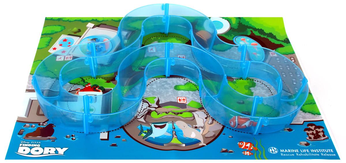 Dory Робот Рыбка Немо и набор с треком25214В набор входит: Трек, наполняемый водой, коврик и роборыбка Немо.