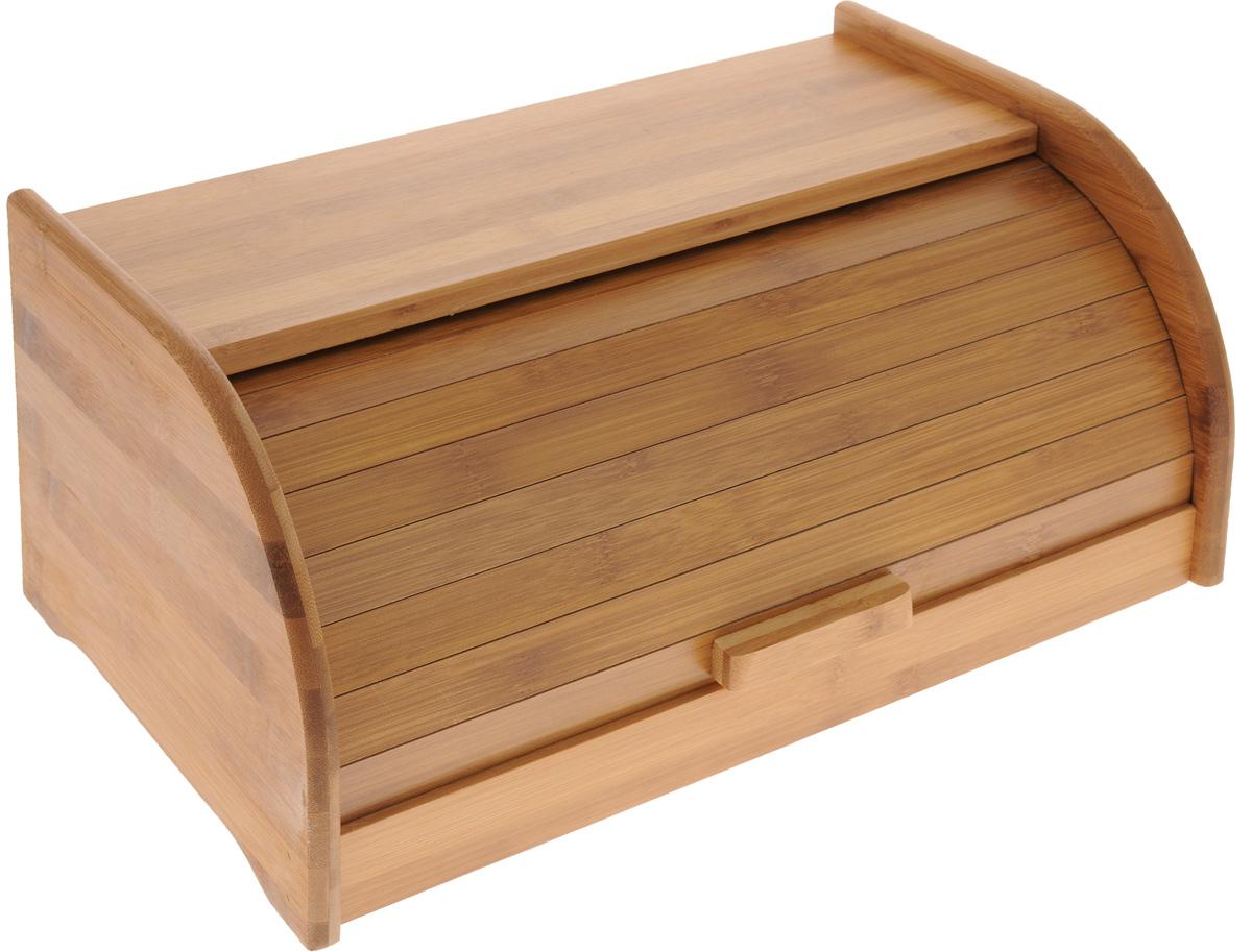 Хлебница Mayer & Boch, 40 х 25,5 х 18 см23267Хлебница Mayer & Boch выполнена из бамбука. Крышка плотно и легко закрывается. Стильная хлебница прекрасно впишется в интерьер кухни и надолго сохранит ваш хлеб вкусным и свежим.