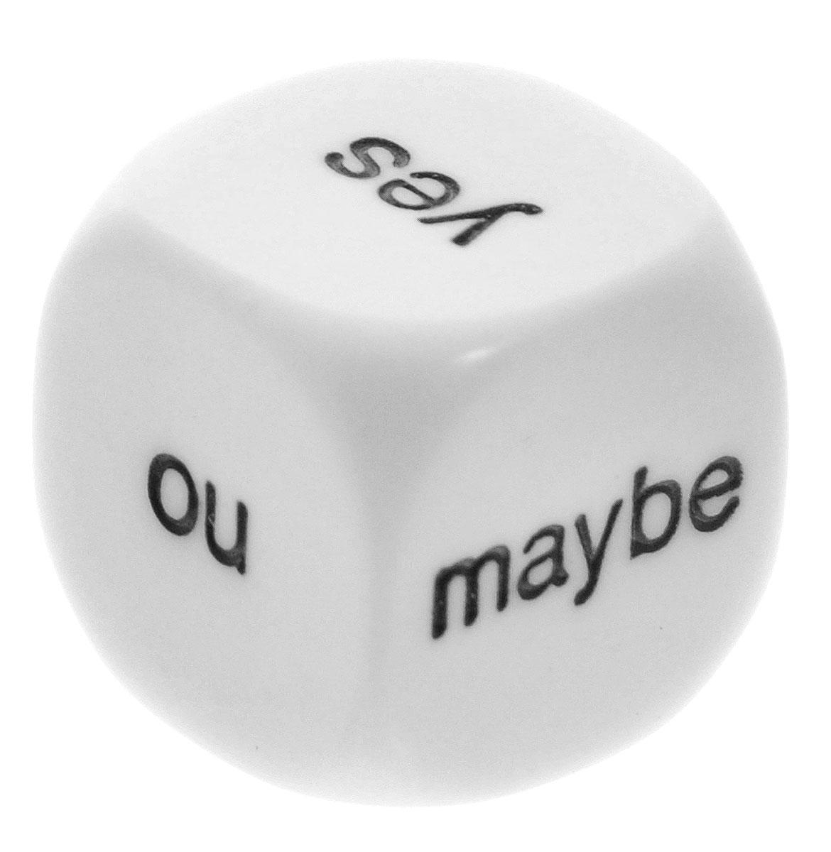 Pandora's Box Кубик для гадания на решения Да Нет Может быть