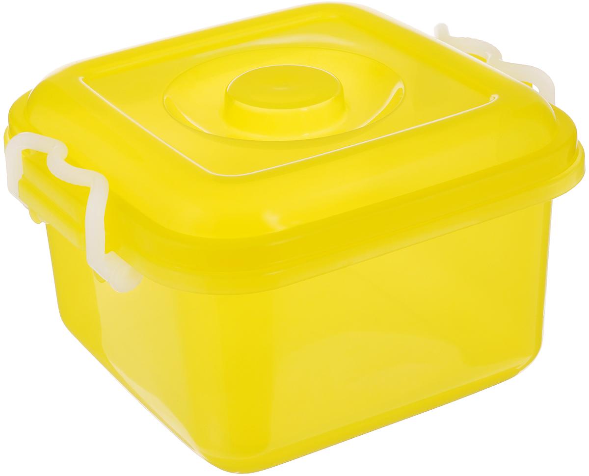 Контейнер для хранения Idea Океаник, цвет: желтый, 6 лМ 2855Контейнер Idea Океаник, выполненный из высококачественного пищевого полипропилена, предназначен для хранения различных вещей. Он снабжен плотно закрывающейся крышкой со специальными боковыми фиксаторами. Вместительный контейнер позволит сохранить ваши вещи в порядке, а герметичная крышка предотвратит случайное открывание, а также защитит содержимое от пыли и грязи.