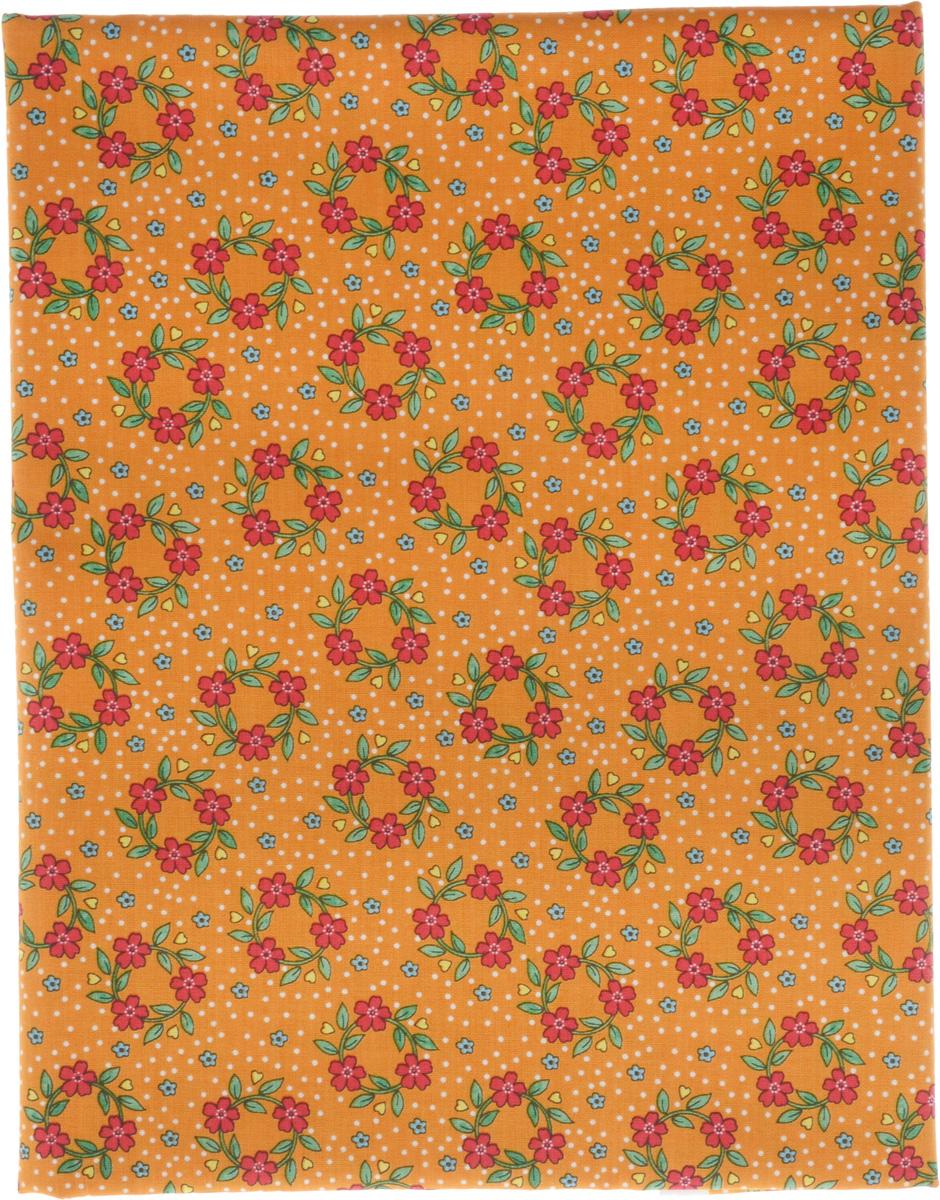 Ткань для пэчворка RTO, 110 х 110 см. PST-4/18PST-4/18Ткань RTO, изготовленная из 100% хлопка, предназначена для пошива одеял, покрывал, сумок, аппликаций и прочих изделий в технике пэчворк. Также подходит для пошива кукол, аксессуаров и одежды. Пэчворк - это вид рукоделия, при котором по принципу мозаики сшивается цельное изделие из кусочков ткани (лоскутков).
