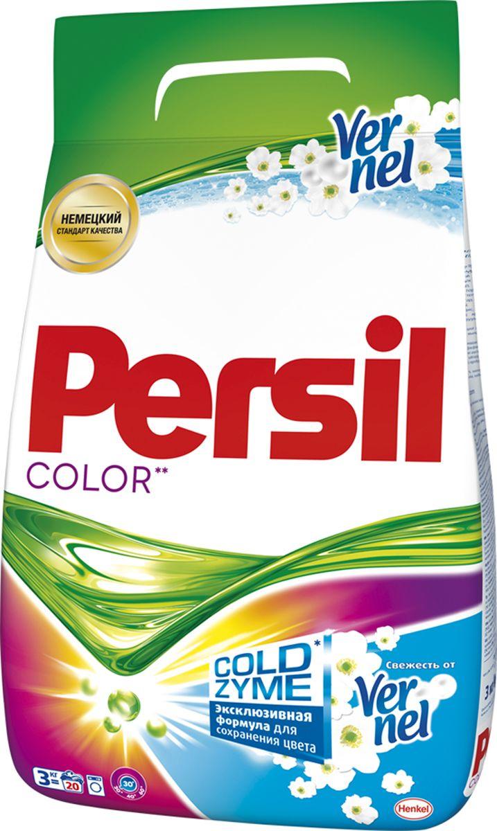 Стиральный порошок Persil Color, свежесть от Vernel, 6 кг904697Persil Expert Color - стиральный порошок с инновационной формулой, которая содержит активные капсулы жидкого пятновыводителя. Капсулы пятновыводителя быстро растворяются в воде и начинают действовать на пятно уже в самом начале стирки. Благодаря инновационной технологии Persil Expert отлично удаляет даже самые сложные пятна, а специальные цветозащитные компоненты сохраняют яркие цвета ткани. В состав Persil также входят Жемчужины свежего аромата Vernel - микрокапсулы, похожие на жемчужины, содержащие внутри отдушку Vernel. Во время стирки Жемчужины закрепляются между волокнами ткани и высвобождают свой аромат при каждом движении или прикосновении. Ваша одежда сохраняет свежесть 24 часа и даже дольше. Средство моющее синтетическое универсальное. Предназначен для стирки цветных и белых изделий из х/б, льняных, синтетических тканей и тканей из смешанных волокон в стиральных машинах-автоматах и ручной стирки в воде любой жесткости. Для изделий из шерсти и...