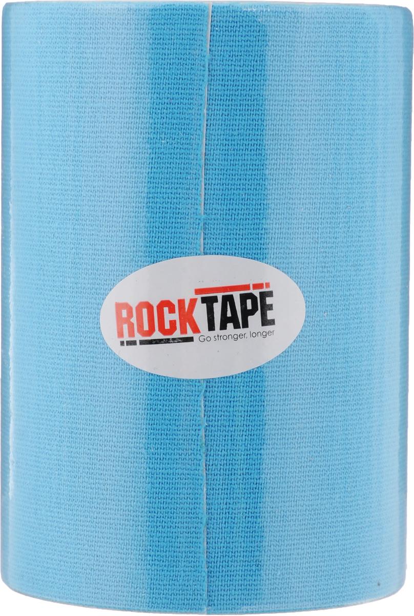 "Кинезиотейп Rocktape ""Big Daddy"", цвет: голубой, 10 x 500 см"