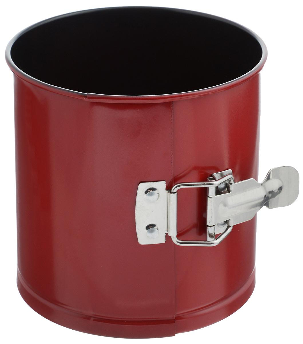 Форма для выпечки кулича Mayer & Boch, разъемная, с антипригарным покрытием, диаметр 14 см24289Форма для выпечки кулича Mayer & Boch изготовлена из высококачественной углеродистой стали с антипригарным покрытием. Специальная толщина стенок изделия обеспечивает долговечность и прочность. Форма имеет разъемный механизм и съемное дно, поэтому вынимать из нее готовую выпечку очень легко. Антипригарное покрытие формы не вступает в реакцию с продуктами питания. Выпечка не пригорает и не прилипает к стенкам. Такая форма значительно экономит время по сравнению с аналогичными формами для выпечки. После использования легко и быстро моется. Подходит для использования в духовках и для хранения пищи в холодильнике. Не подходит для использования в СВЧ.