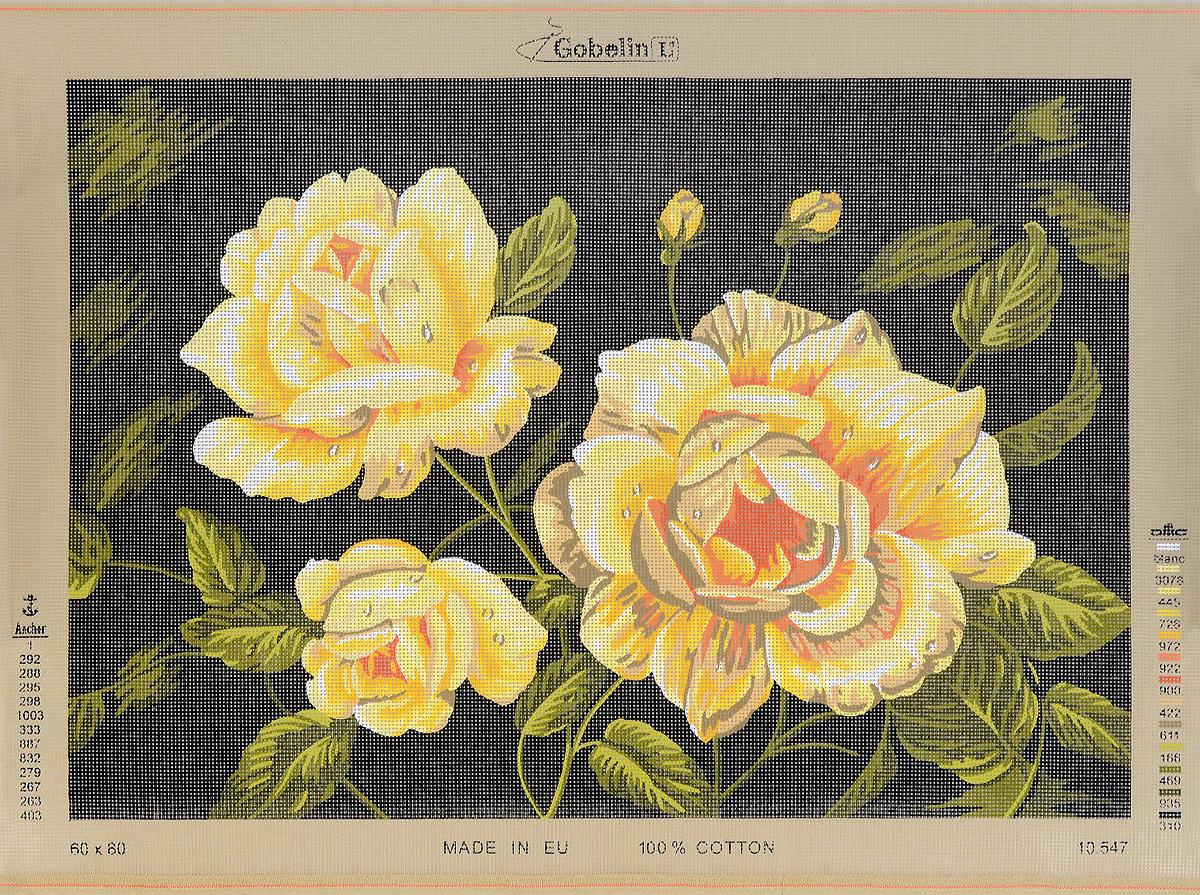 Канва жесткая с рисунком Soulos Желтые розы, 80 х 60 см. 10.54710.547Канва для вышивания Soulos Желтыйе розы изготовлена из 100% хлопка. Применяется как основа или трафарет для вышивания. Создайте свой личный шедевр - красивую вышитую картину. Работа, выполненная своими руками, станет отличным подарком для друзей и близких!
