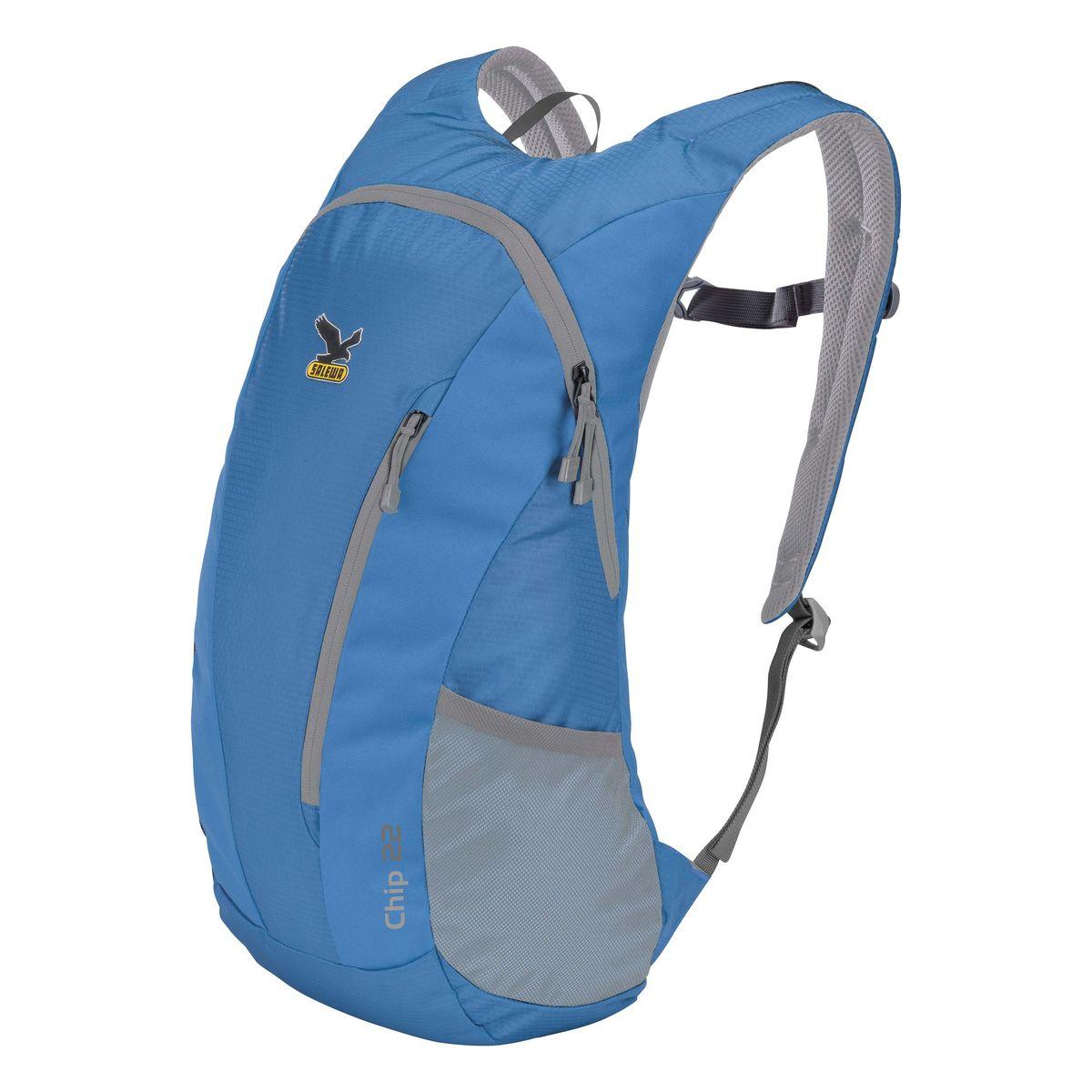 Рюкзак городской Salewa Daypacks CHIP 22, цвет: синий, 22л1130_8490Компактный городской рюкзак для повседневного использования и активного досуга. Comfort Fit обеспечивает комфортное распределение нагрузки и вентиляцию. Особенности: - переднее отделение - боковые карманы