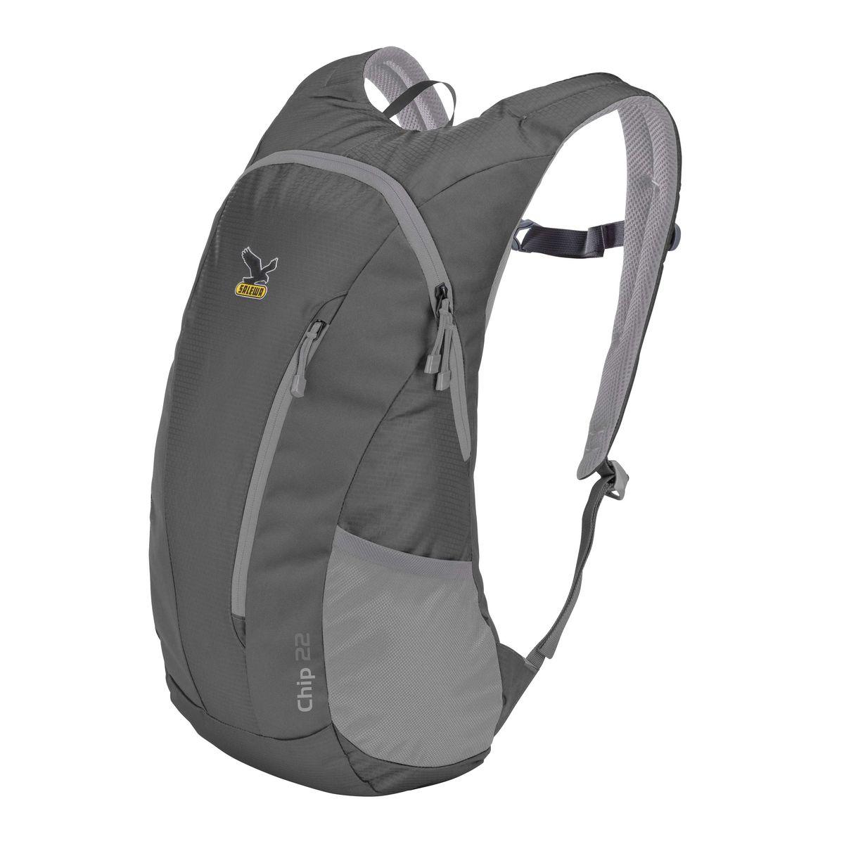 Рюкзак городской Salewa Daypacks CHIP 22, цвет: темно-серый, 22л1130_780Компактный городской рюкзак для повседневного использования и активного досуга. Comfort Fit обеспечивает комфортное распределение нагрузки и вентиляцию. Особенности: - переднее отделение - боковые карманы