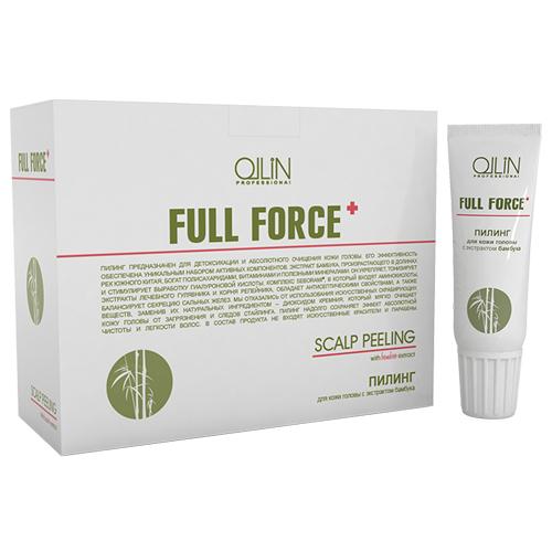 Ollin Пилинг для кожи головы с экстрактом бамбука Full Force Scalp Peeling 10шт х 15мл725591Пилинг предназначен для детоксикации и глубокого очищения кожи головы. Экстракт бамбука укрепляет и тонизирует. Комплекс Seborami® обладает антисептическими свойствами и балансирует секрецию сальных желез. Диоксид кремния мягко очищает кожу головы от загрязнения и следов стайлинга. Пилинг надолго сохраняет эффект абсолютной чистоты и легкости волос. Без искусственных скрабирующих веществ. Без искусственных красителей. Без парабенов.