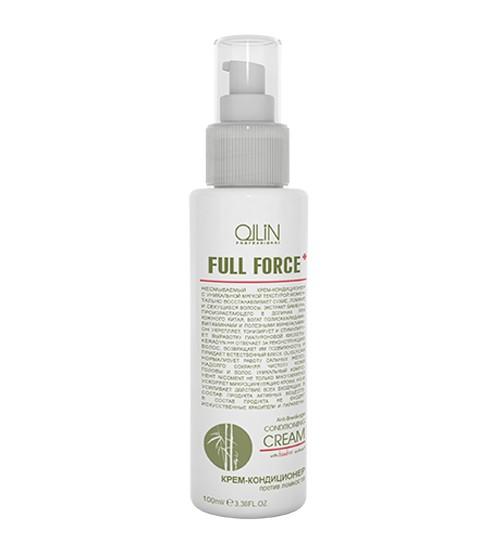 Ollin Крем-кондиционер против ломкости с экстрактом бамбука Full Force Hair  Scalp Purfying Anti-Breakage Cream 100 мл (Ollin Professional)
