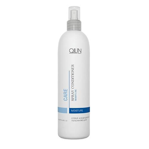 Ollin Спрей-кондиционер увлажняющий Care Moisture Spray Conditioner 250 мл726994Спрей-кондиционер увлажняющий Ollin Care Moisture Spray Conditioner идеально подходит для ежедневного увлажнения и выравнивания структуры волос. Облегчает расчёсывание, увеличивает объём и придаёт волосам блеск. Увлажняющая добавка и производные касторового масла уплотняют структуру волоса. Кондиционер Ollin moisture spray conditioner обладает высокой степенью защиты от солнечного воздействия. Не утяжеляет волосы.