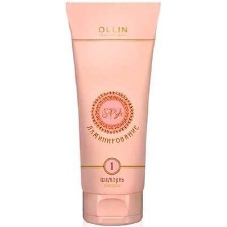 Ollin Spa-ламинирование Ламинирующий шампунь Шаг 1 Laminating Shampoo. Step 1 250 мл728714Деликатный восстанавливающий шампунь с гидролизованным кератином мягко очищает волосы и кожу головы. Предназначен для подготовки длинных, химически завитых, пористых и обесцвеченных волос к дальнейшей процедуре ламинирования. Обеспечивает защиту плотности волос во время мытья и способствует лёгкому расчесыванию. Активные компоненты: Гидролизованный кератин. Очищающие компоненты.