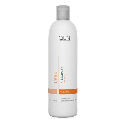Ollin Шампунь для придания объема Care Volume Shampoo 250 мл721425/4620753727014Шампунь для придания объема Ollin Care Volume Shampoo мягко очищает, увеличивает объем от корней до самых кончиков. Укрепляет структуру волоса на длительное время, придавая волосам больше упругости, жизненной силы и объёма. Экстракт фруктов и фруктовые соки увеличивают синтез коллагенов и эластинов, обладают мощным увлажняющим и влагоудерживающим действием, активизируют иммунитет и дарят волосам и коже головы обновление. Обеспечивают максимальный уход за волосами и дополнительный блеск.
