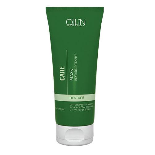 Ollin Интенсивная маска для восстановления структуры волос Care Restore Intensive Mask 200 мл722354/4620753727090Интенсивная маска для восстановления структуры волос Ollin Care Restore Intensive Mask. Потрясающая по эффекту, восстанавливающая маска Ollin для сухих, осветлённых, обесцвеченных, химически завитых и уставших волос, утративших жизненную силу. Питает волосы кератиновым протеином. Возвращает блеск и здоровый вид тусклым волосам, повреждённым химическими процедурами. Действие маски Ollin restore intensive mask основано на силе активных компонентов и растительных экстрактов: Витаминный комплекс из 11 экстрактов растений обеспечивает максимальный уход, восстанавливает волосы изнутри и одновременно защищает от агрессивного воздействия окружающей среды. Масло миндаля увлажняет, питает, смягчает, кондиционирует и разглаживает поверхность волоса. Результат: мягкие, блестящие и послушные волосы. Минеральные вещества заново выстраивают разрушенную структуру волоса.