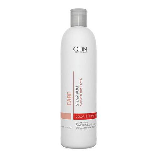 Ollin Шампунь, сохраняющий цвет и блеск окрашенных волос Care Color and Shine Save Shampoo 250 мл (Ollin Professional)