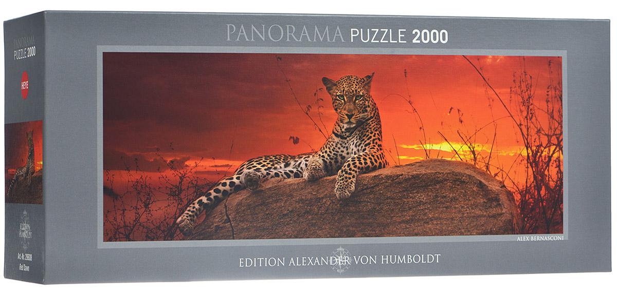HEYE Пазл Леопард на рассвете29608Пазл Леопард на рассвете без сомнения придется вам по душе, и вы получите массу удовольствия от процесса собирания картины. Собрав пазл, состоящий из 2000 элементов, вы получите великолепную картину с изображением леопарда на камне. Пазлы - прекрасное антистрессовое средство для взрослых и замечательная развивающая игра для детей. Собирание пазла развивает у ребенка мелкую моторику рук, тренирует наблюдательность, логическое мышление, знакомит с окружающим миром, с цветом и разнообразными формами, учит усидчивости и терпению, аккуратности и вниманию. Собирание пазла - прекрасное времяпрепровождение для всей семьи.