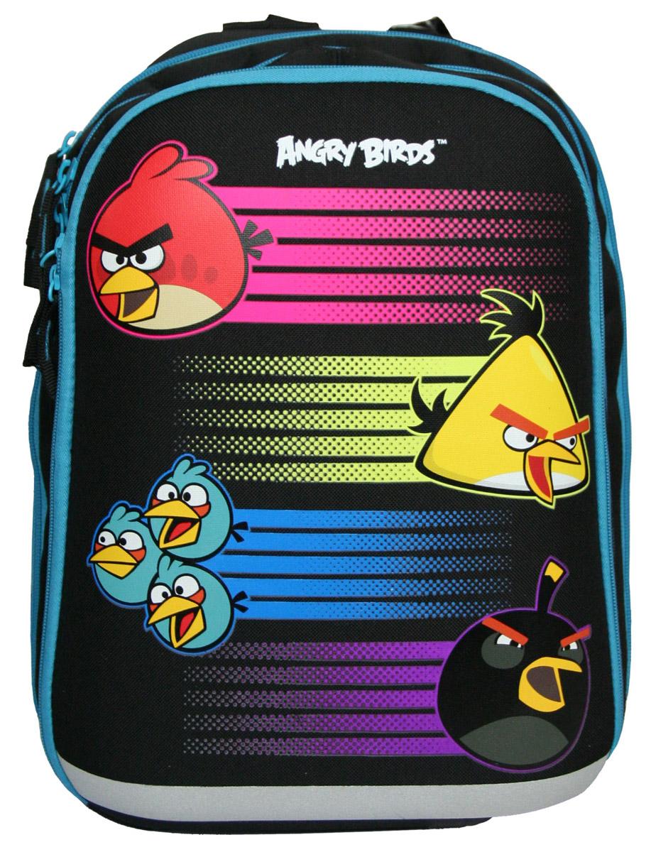 Angry Birds Рюкзак спортивныйABBB-UT2-955Спинка изготовлена с использованием облегченной пластиковой вставки и специально расположенных поролоновых эргономических элементов с воздухообменной сеткой, служащих для правильного и безопасного распределения нагрузки на спину ребенка. Лямки рюкзака специальной S-образной формы с порололном и воздухообменной сеткой выполнены в виде единого связанного комплекса, регулируемого по высоте в точке крепления верхней части комплекса лямок к спинке рюкзака. Длина лямок регулируется. Данные конструктивные особенности помогут обеспечить максимальный комфорт, при ношении рюкзака за спиной, ребенку любой комплекции. Боковые стороны выполнены из жесткого высокотехнологичного материала (EVA), что обеспечивает сохранение формы рюкзака при разной степени загрузки. Основное отделение имее два резделителя. Фронтальное отделение имеет внешнюю стенку выполненную из жесткого высокотехнологичного упругого материала (пресованного EVA), что является дополнительной защитой содержимого рюкзака от...