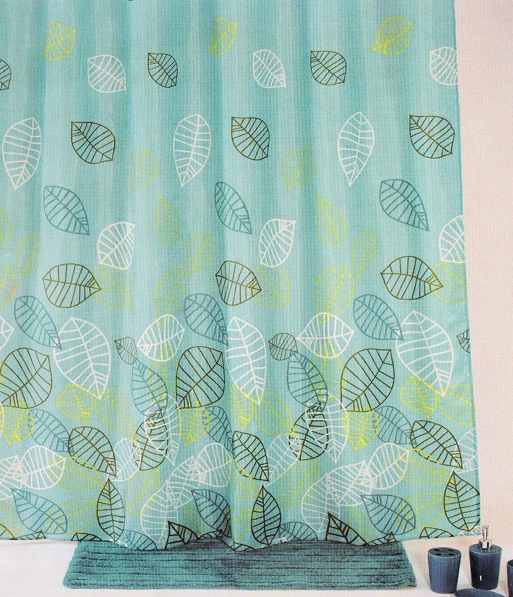 Штора для ванной комнаты Aqva Line Аква, с крючками, 180 х 180 см1300011Штора для ванной комнаты Aqva Line Аква изготовлена из высококачественного полиэстера. Изделие приятно на ощупь, устойчиво к разрывам и проколам, 100% не пропускает воду. Штора для ванной не требует какого-либо специфического ухода и очень быстро сохнет. Привлекательный дизайн шторы наполнит вашу ванную комнату положительной энергией. Легко и просто моется. В комплекте прилагаются овальные пластиковые кольца.