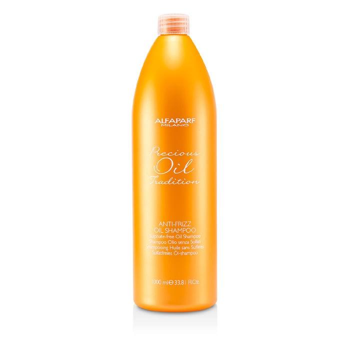 Alfaparf Разглаживающий шампунь для всех типов волос Precious Oil Tradition Anti-Frizz Oil Shampoo 1000 мл