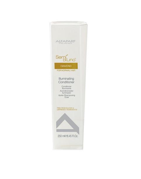 Alfaparf Кондиционер для нормальных волос, придающий блеск Semi Di Lino Diamond Illuminating Conditioner 250 мл