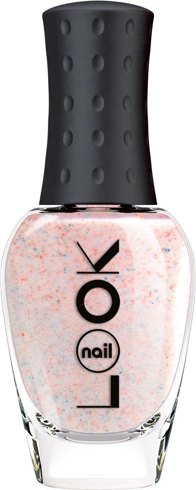 nailLOOK Лак для ногтей серии Real Sugar, 8,5 мл31092Нежный розовый песочный лак с голубыми крапинками