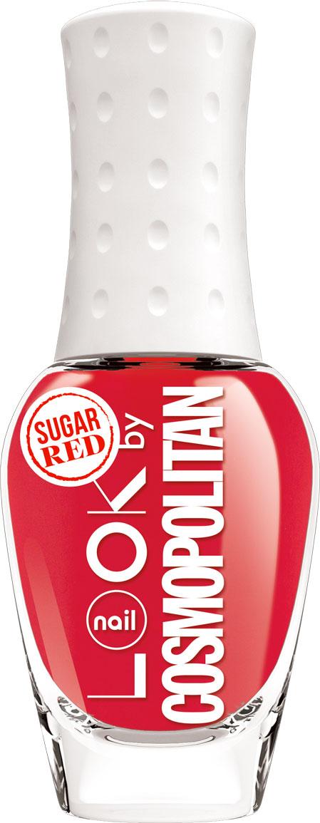 nailLOOK Лак для ногтей серии Trends look by Cosmopolitan, Sugar Red, 8,5 мл naillook inspired by marsala цвет oak buff variant hex name e5b967