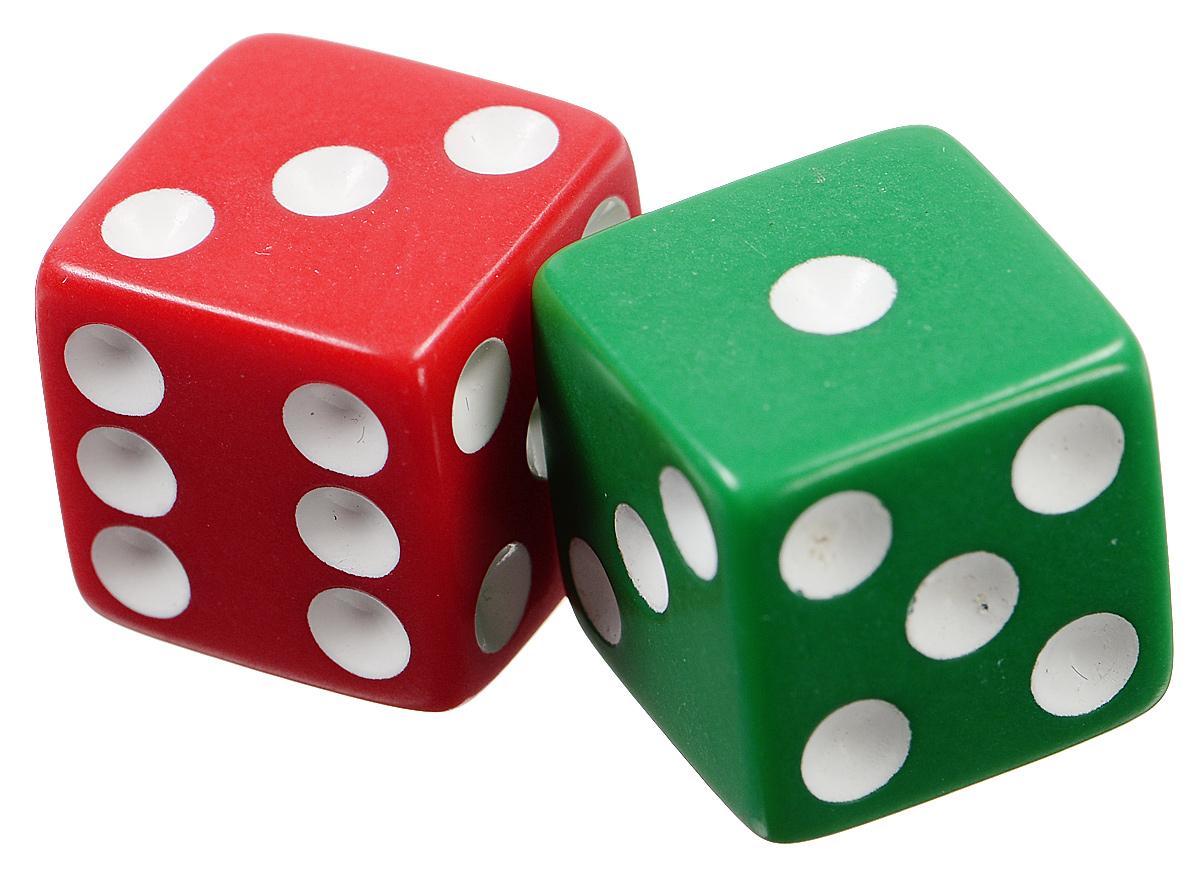 Koplow Games Набор игральных костей Простые D6 цвет зеленый красный 2 шт2000_зеленый, красныйНабор игральных костей Koplow Games Простые D6 предназначен для настольных игр. Набор состоит из двух шестигранных костей. На каждую сторону игральной кости нанесены в виде точек числа от 1 до 6. Целью броска игральной кости является демонстрация случайно определенного числа, каждое из которых является равновозможным благодаря правильной геометрической форме. Игральные кости выполнены из прочного пластика.