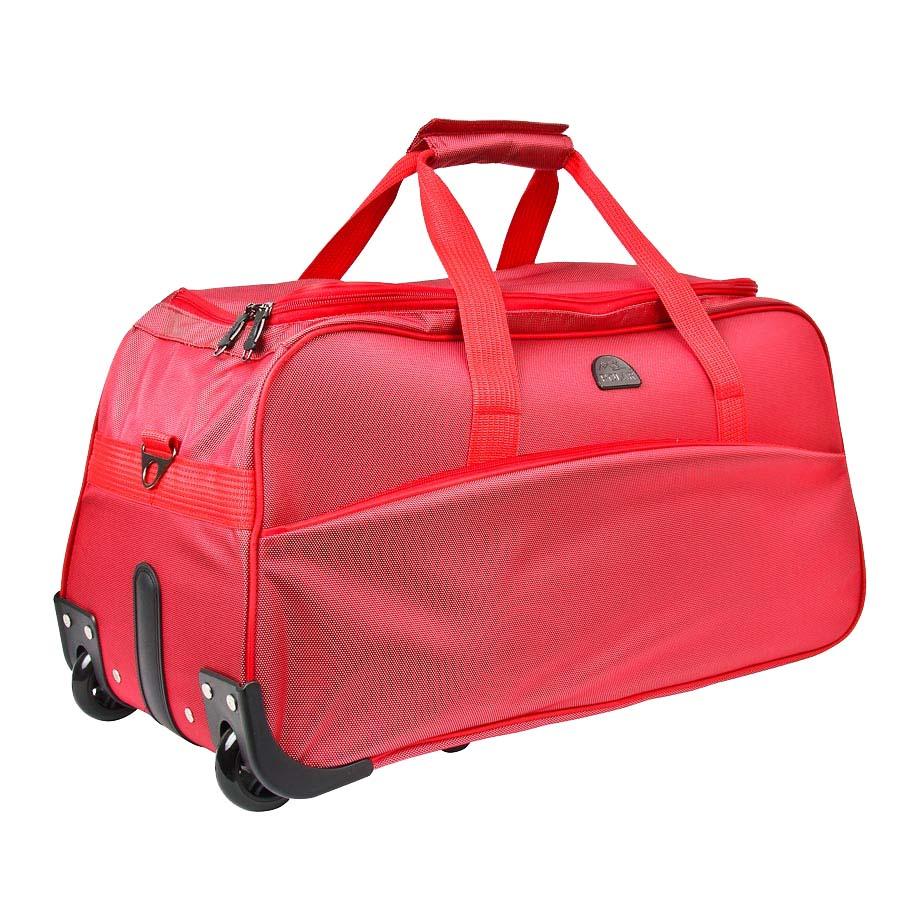 Сумка дорожная на колесах Polar, 58 л, цвет: красный. 7025.57025.5Вместительная колесная сумка фирмы Polar. Материал – полиэстер с водоотталкивающей пропиткой. Пластиковые колеса (2 шт.), выдвижная ручка, внутренняя тележка. Большое отделение и карман для мелких вещей. В комплект входит съемный плечевой ремень. Очень удобный и практичный вариант для всего самого необходимого.