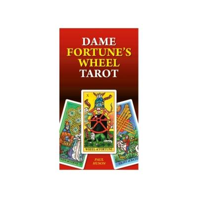 Карты Таро Lo Scarabeo Дама Удачи, инструкция на английском языке. EX165EX165Колесо Госпожи Удачи Dame Fortunes Wheel Tarot— это новые достижения в исследованиях Пола Хасона в мире Таро! В сочетании со Школой Эттейллы и Марсельского Таро, эта классическая колода карт Таро, обещает раскрыть внутренние истины, которые также обогатят Вас в понимании гадальной системы и символики.