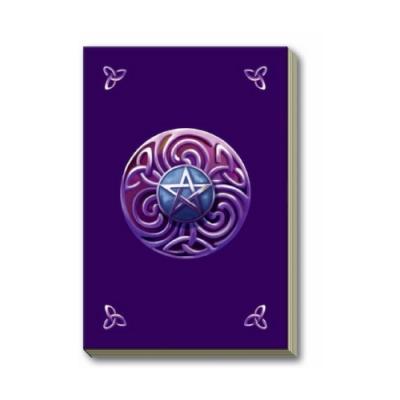 Дневник для записей Lo Scarabeo Пентаграмма. JOU16JOU16Магический дневник это тайное и сокровенное место для записи и хранения ваших мыслей, важных откровений и осознаний. Необходимо тщательно подобрать такой дневник, который отражает вашу индивидуальность и будет в гармонии с вами в вашей магической работе. Высокое качество бумаги и обложки, наличие внутренних закладок и большой выбор стилей помогут вам найти Ваш Дневник.