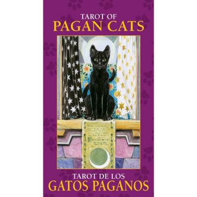 Карты Таро - мини Lo Scarabeo Языческие кошки, инструкция на английском языке. MD23MD23Разве существуют животные более загадочные и привлекательные, чем кошки? Кошки живут между мирами. Эти миры прекрасно иллюстрированы в данной почти классической колоде Таро.
