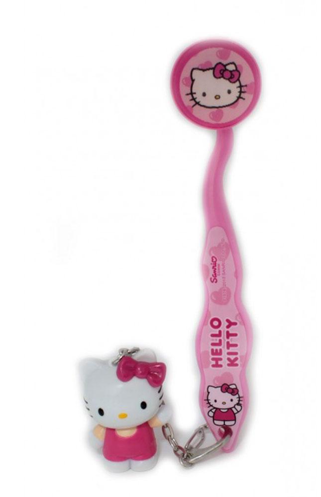 Roxy-kids Зубная детская щетка Hello Kitty с брелоком81-11-81903-1Зубная детская щетка Roxy-kids Hello Kitty поможет вашему ребенку превратить чистку зубов в увлекательное занятие. У щетки мягкая щетина. Предназначена для детей от трех лет. Удобная эргономичная форма зубной щетки поможет ребенку удобно взять в ручки щеточку. Защитный колпачок препятствуют загрязнению щеточки во время поездок. Зубная щетка не является игрушкой! Использовать под присмотром взрослых. Не разрешайте ребенку жевать или рвать резиновый наконечник. Под ним находится микробатарейка, которая может причинить вред при проглатывании. Замена батарейки не предусмотрена.