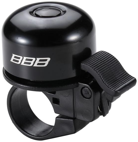 Звонок BBB Loud & Clear, цвет: матовый черный. BBB-11BBB-11Особенно громкий звонок. Прочная и легкая конструкция. Стандартная установка на руль.