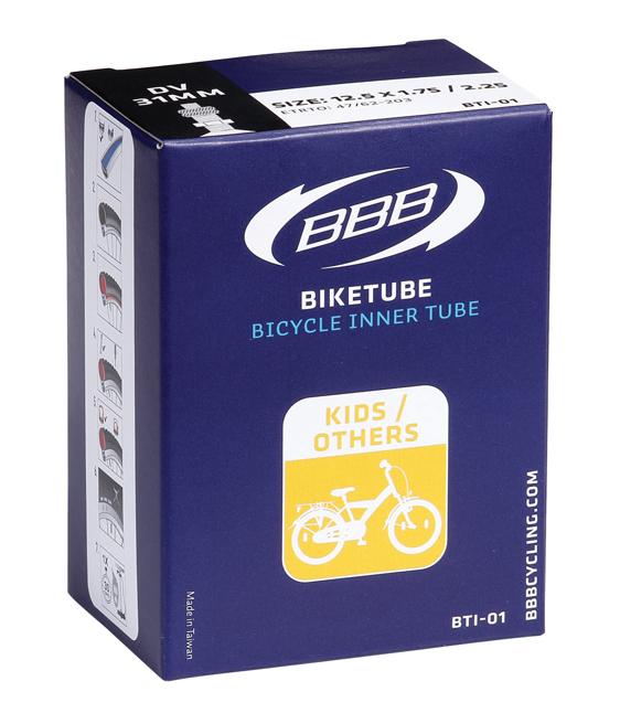 Велокамера BBB 12 in 1/2x1,75x2-1/4 AV. BTI-01