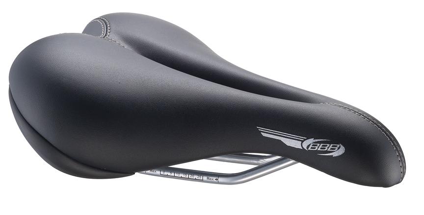 Седло женское спортивное BBB SmoothDensity. BSD-15BSD-15Роскошное спортивное седло с покрытием из двухцветной искусственной кожи. Размер: 170 мм x 250 мм
