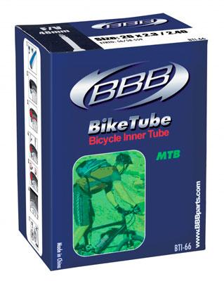 Велокамера BBB 26 in 2,30/2.40 AV. BTI-66BTI-66- размеры: 26*2,30/2.40 - тип нипеля: авто