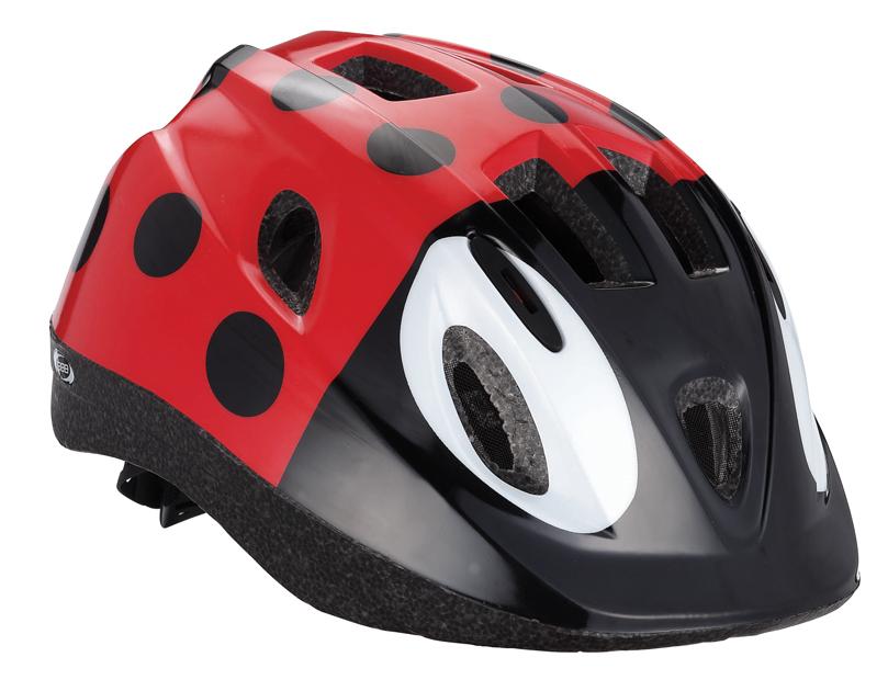 Летний шлем BBB Boogy Bug. BHE-37. Размер S (48-54 см)BHE-37Легкий и надежный велосипедный шлем для детей. 12 вентиляционных отверстий. Защитная сетка от насекомых. Регулируемые ремни для идеальной посадки. Удобная регулировка TwistClose системы, можно регулировать одной рукой. Моющиеся антибактериальные колодки. Светоотражающие элементы сзади.