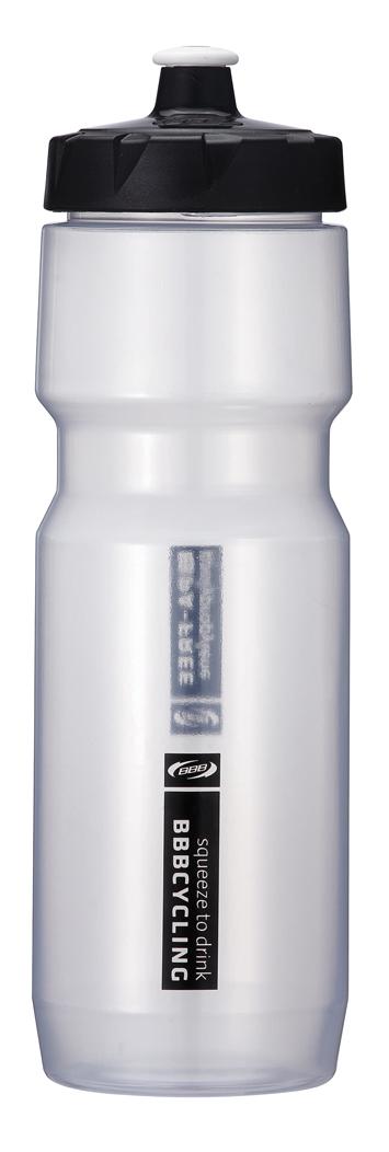Бутылка для воды BBB CompTank, велосипедная, цвет: прозрачный, черный, 750 млBWB-05Бутылка для воды BBB CompTank изготовлена из высококачественного прозрачного полипропилена, безопасного для здоровья. Закручивающаяся крышка с герметичным клапаном для питья обеспечивает защиту от проливания. Оптимальный объем бутылки позволяет взять небольшую порцию напитка. Она легко помещается в сумке или рюкзаке и всегда будет под рукой. Такая идеальная бутылка небольшого размера, но отличной вместимости наполняет оптимизмом, даря заряд позитива и хорошего настроения. Бутылка для воды BBB - отличное решение для прогулки, пикника, автомобильной поездки, занятий спортом и фитнесом.