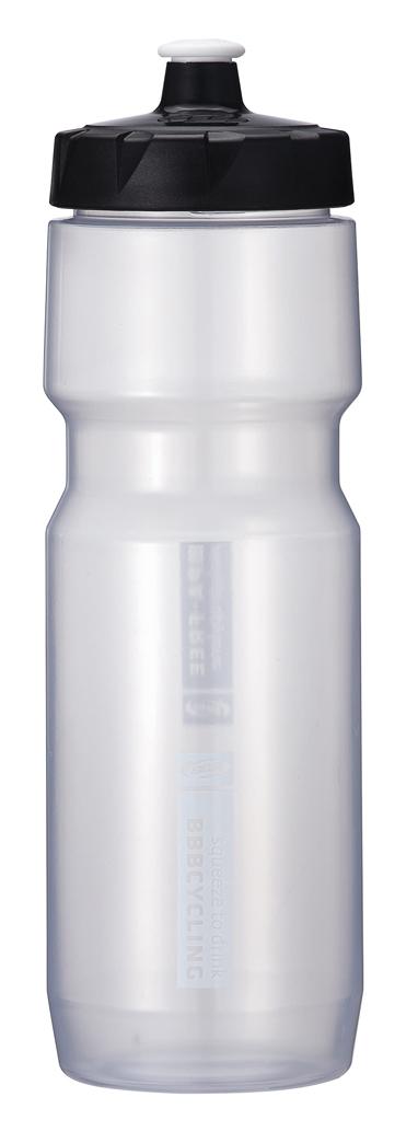 Фляга велосипедная BBB CompTank, 750 мл, цвет: прозрачный, белый. BWB-05BWB-05Можно мыть в посудомоечной машинке. Не содержит вредных примесей-BPA free polypropylene (PP). Мягкий и удобный клапан с блокировкой поворотом. Широкое отверстие для легкой чистки и наполнения. Бутылка легко сжимается. Объем: 750 мл.
