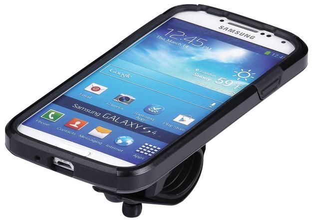 Чехол для телефона BBB Patron GS4, цвет: черный. BSM-06BSM-06Превратите ваш Samsung Galaxy S4 в высокотехнологичный велокомпьютер (Samsung Galaxy S4© в комплект не входит). Ударопрочный чехол из поликарбоната для защиты от падений. Ударопоглощающая силиконовая вставка для дополнительной фиксации и защиты. Набор включает летний и дождевой вариант защиты для настройки чехла по погоде. Дополнительная защита от ударов со стороны аккумулятора дает полноценную защиту со всех сторон. Защита основного объектива камеры от дорожной грязи. Водонепроницаемый материал для защиты динамика. Полноценная функциональность телефона. Устанавливается как в портретном формате, так и в ландшафтном. Регулируемый угол установки для оптимальных возможностей по съемке. Устанавливается на вынос, или руль при помощи включенного крепления BSM-91 PhoneFix. Вес: 70 грамм включая хомут.